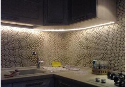 Светодиодные светильники для кухни - лента