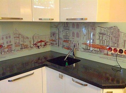 Стеновые панели для кухни с красивым рисунком