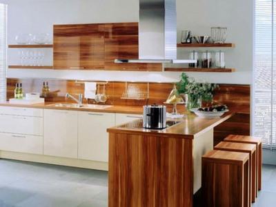Стеновые панели для кухни из ламинированной фанеры