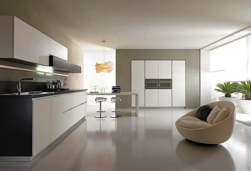 Кухня в стиле модерн: фото интерьера