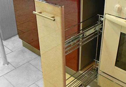 Бутылочница для кухни с боковым креплением
