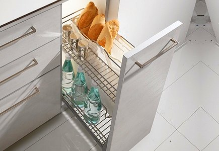 Удобная бутылочница для кухни