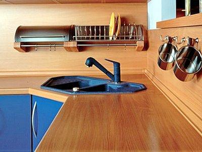 Столешницы для кухни из ДСП: как обработать срезы