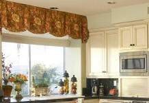 Фото занавесок на кухню