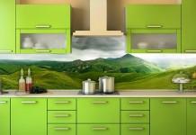 Фото стеновых панелей для кухни