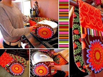 Как сделать рихватки для кухни своими руками