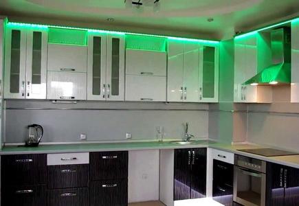 Светодиодные светильники для кухни – креативный подход