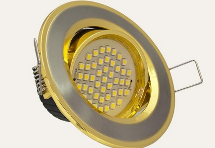 Встраиваемые светодиодные светильники для кухни