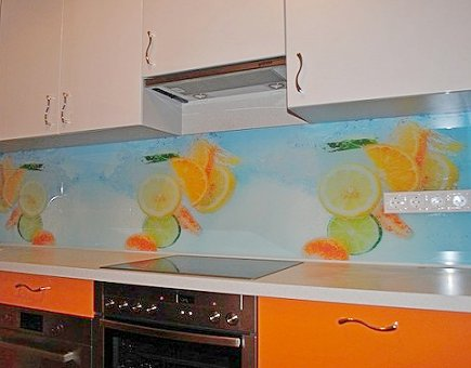 Стеновые панели для кухни из пластика