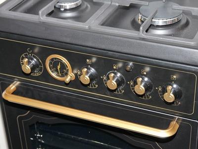 Кухни классика - плита в ретро-стиле