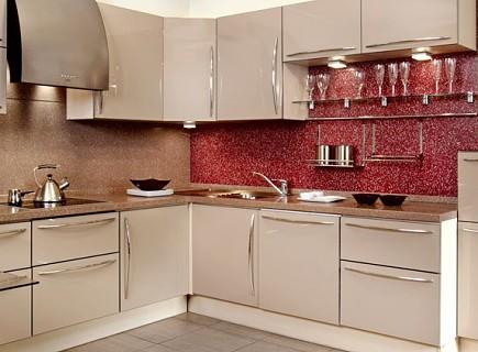 Фартук для кухни в двух цветах
