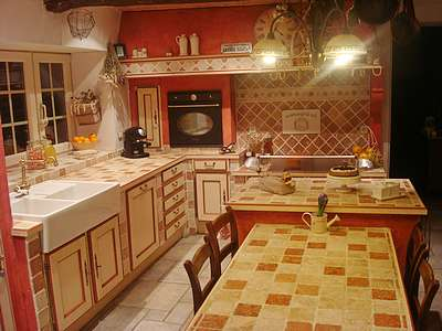 Ремонт кухни в стиле прованс