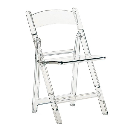 Складные стулья для кухни из пластика