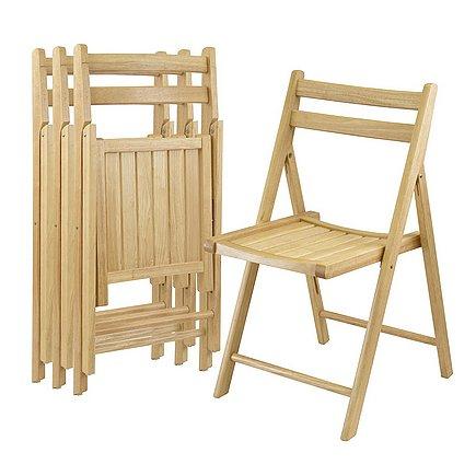 Деревянные стулья для летней кухни