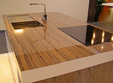 Столешница для кухни из ДСП большой толщины