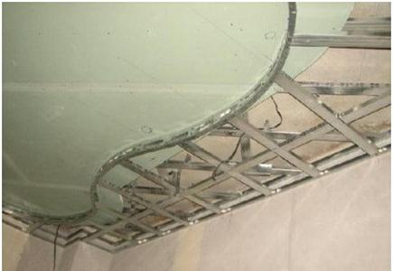 Монтаж двухуровневых потолков из гипсокартона – каркас второго уровня