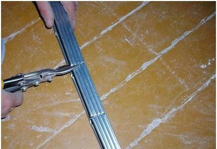 Монтаж двухуровневых потолков из гипсокартона – профиль