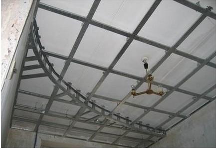 Монтаж двухуровневых потолков из гипсокартона – сборка каркаса