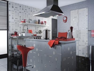 Моющиеся обои для кухни - идеальный вариант