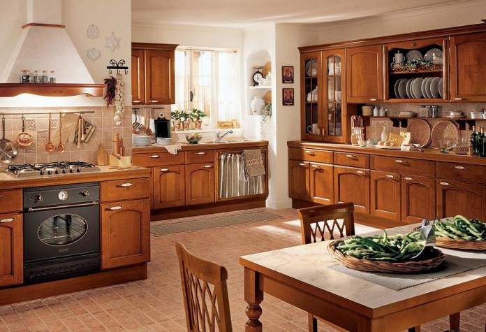Фото кухни классика