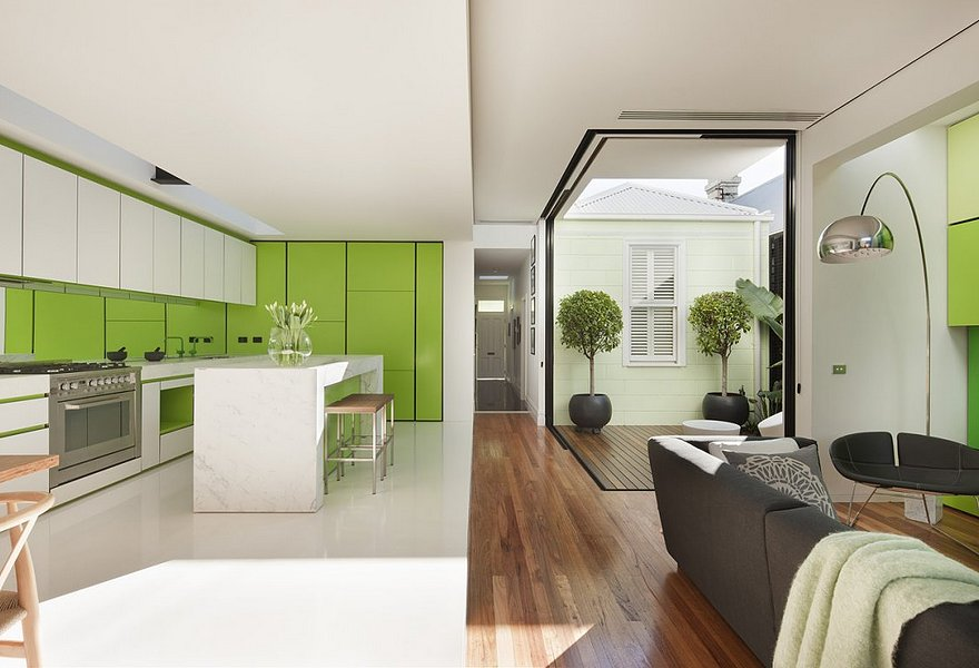 Интерьер кухни-гостиной - 75 фото идеально совмещенного интерьера | 600x880