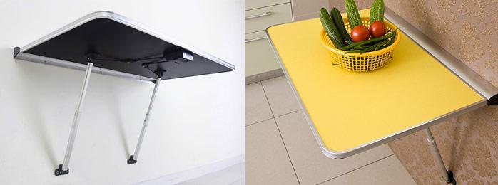 кухонные столы для маленькой кухни