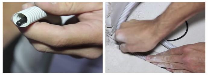 Шаг укладки электрического теплого пола