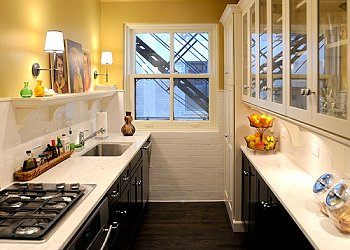 40-50 см столешницы в малогабаритных кухнях